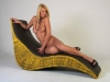 Modelshooting Kristin Roca mit Visagistin Claudia Rivic im Mietstudio-Heilbronn